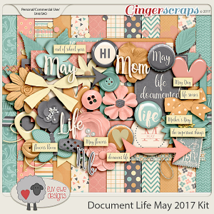 Document Life May 2017 Kit by Luv Ewe Designs