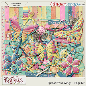 Spread Your Wings Page Kit