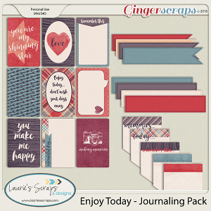 Enjoy Today - Journaling Pack