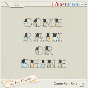 Come Rain Or Shine Alpha by LouCee Creations