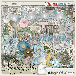 GingerBread Ladies Monthly Mix: Magic Of Winter