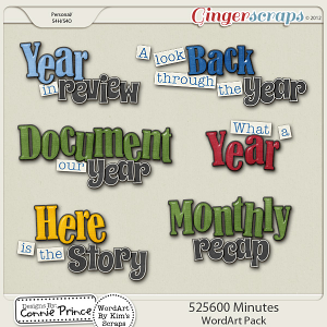 Retiring Soon - 525,600 Minutes - WordArt Pack