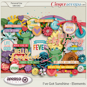 I've Got Sunshine - Elements by Aprilisa Designs