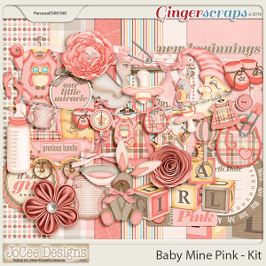 Baby Mine Pink Mini Kit