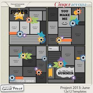 Project 2013: June - 12x12 Temps (CU Ok)