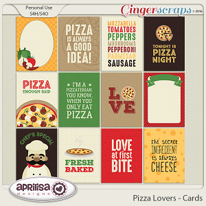 Pizza Lovers - Cards