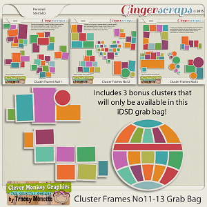 Cluster Frames iDSD Grab Bag by Clever Monkey Graphics