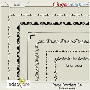 Page Borders 34 by Lindsay Jane