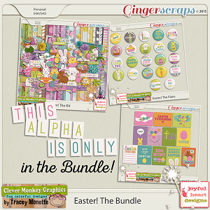 Easter Bundle by Clever Monkey Graphics