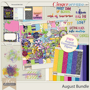 August Bundle with BONUS FWP by JoCee Designs
