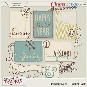 January Daze Pocket Pack