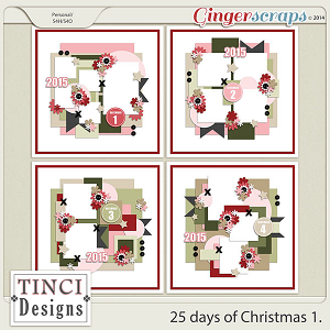 25 days of Christmas 1.