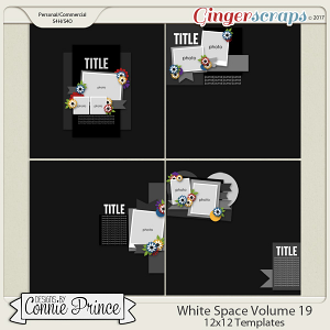 White Space Volume 19 - 12x12 Temps (CU Ok)