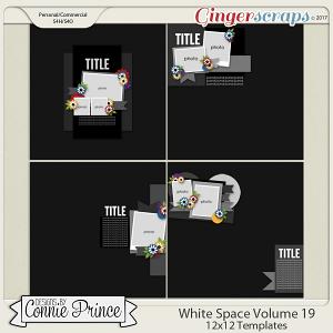 White Space Volume 19 - 12x12 Temps (CU Ok)