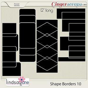 Shape Borders 10 by Lindsay Jane