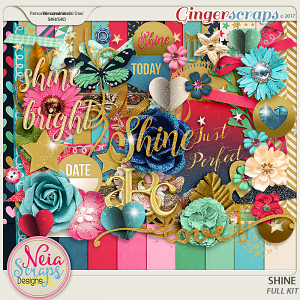 Shine - kit - By Neia Scraps