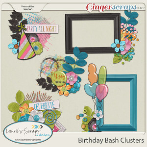 Birthday Bash Clusters