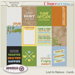 Lost In Nature - Cards by Aprilisa Designs