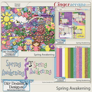 Spring Awakening {Bundle Collection} by Day Dreams 'n Designs