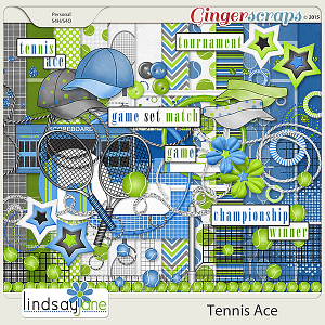 Tennis Ace by Lindsay Jane