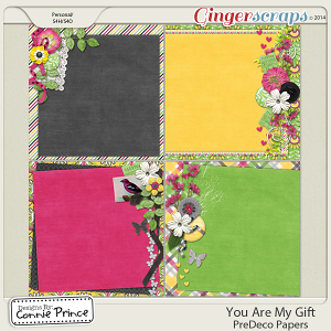 You Are My Gift - PreDeco Papers