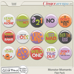 Monster Moments - Flair Pack