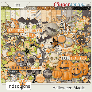 Halloween Magic by Lindsay Jane