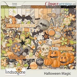 Halloween Magic by Lindsay Jane