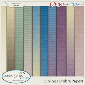 Siblings Ombre Papers