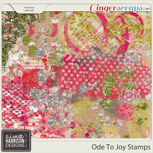 Ode to Joy Stamps by Aimee Harrison