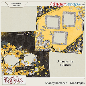 Shabby Romance QuickPages