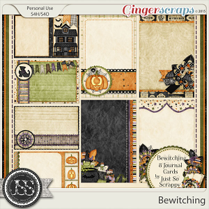 Bewitching Journal and Pocket Scrapbooking Cards