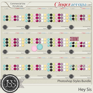 Hey Sis CU Photoshop Styles Bundle