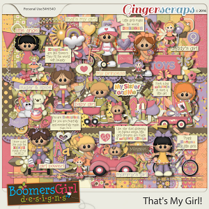 That's My Girl! by BoomersGirl Designs