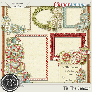 Tis the Season Cluster Frames