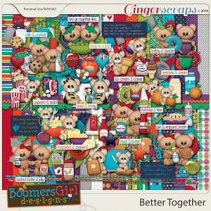 Better Together by BoomersGirl Designs