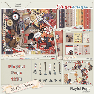 Playful Pups Collection
