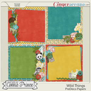 Wild Things - PreDeco Papers