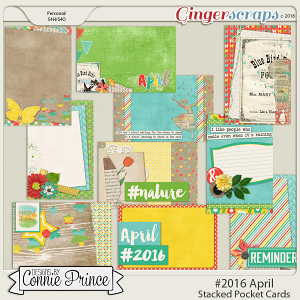 #2016 April - Stacked Pocket Cards