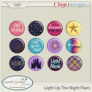 Light Up The Night Flairs