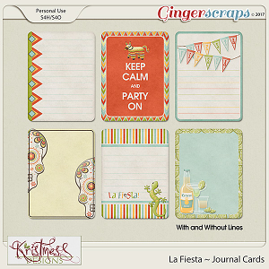 La Fiesta Journal Cards