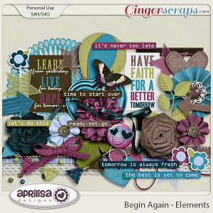 Begin Again - Elements by Aprilisa Designs