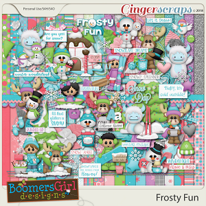 Frosty Fun by BoomersGirl Designs