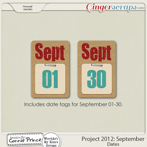 Retiring Soon - Project 2012:   September - Dates