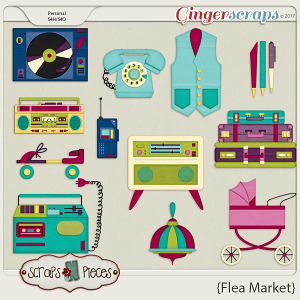 Flea Market Bonus by Scraps N Pieces