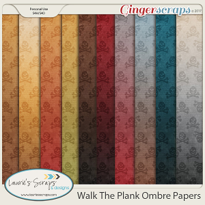 Walk The Plank Ombre Papers