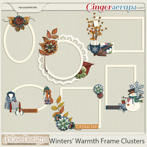 Winters' Warmth Cluster Frames