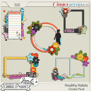 Healthy Habits - Cluster Pack