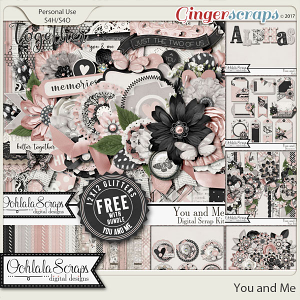 You and Me Digital Scrapbook Bundle