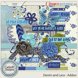 Denim and Lace - Addon Kit